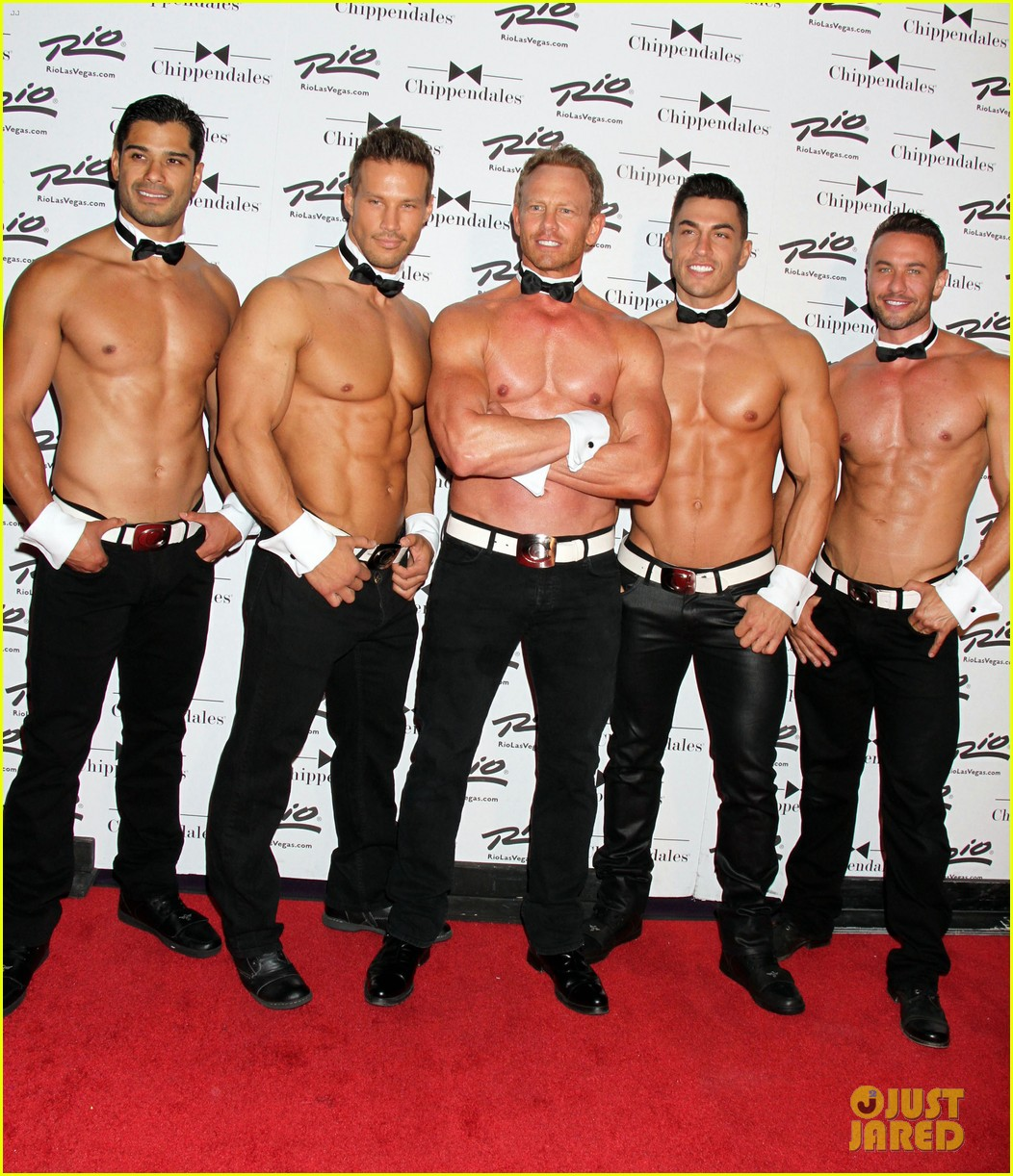 51451558 Former '90210' star Ian Ziering returns to the Chippendales for a six week summer engagment as a celebrity guest host at the Chippendales Theater at the Rio All-Suite Hotel & Casino in Las Vegas, Nevada on June 14, 2014. FameFlynet, Inc - Beverly Hills, CA, USA - +1 (818) 307-4813