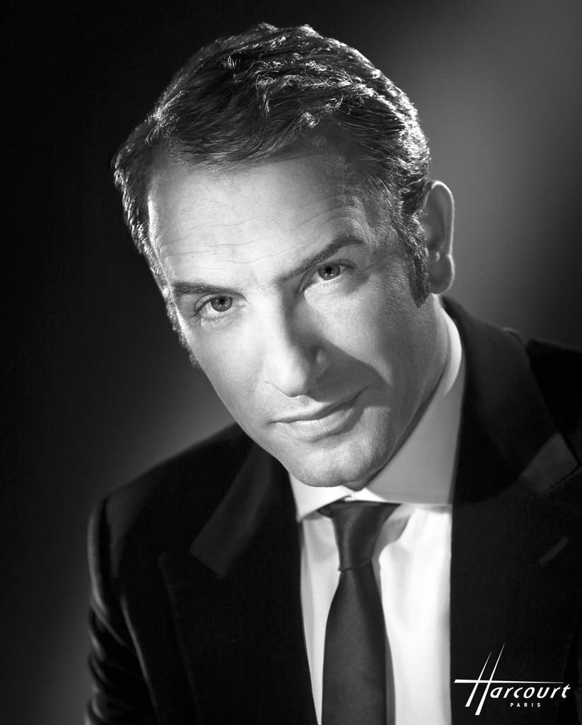 PORTRAIT OF DUJARDIN JEAN FRENCH ACTOR