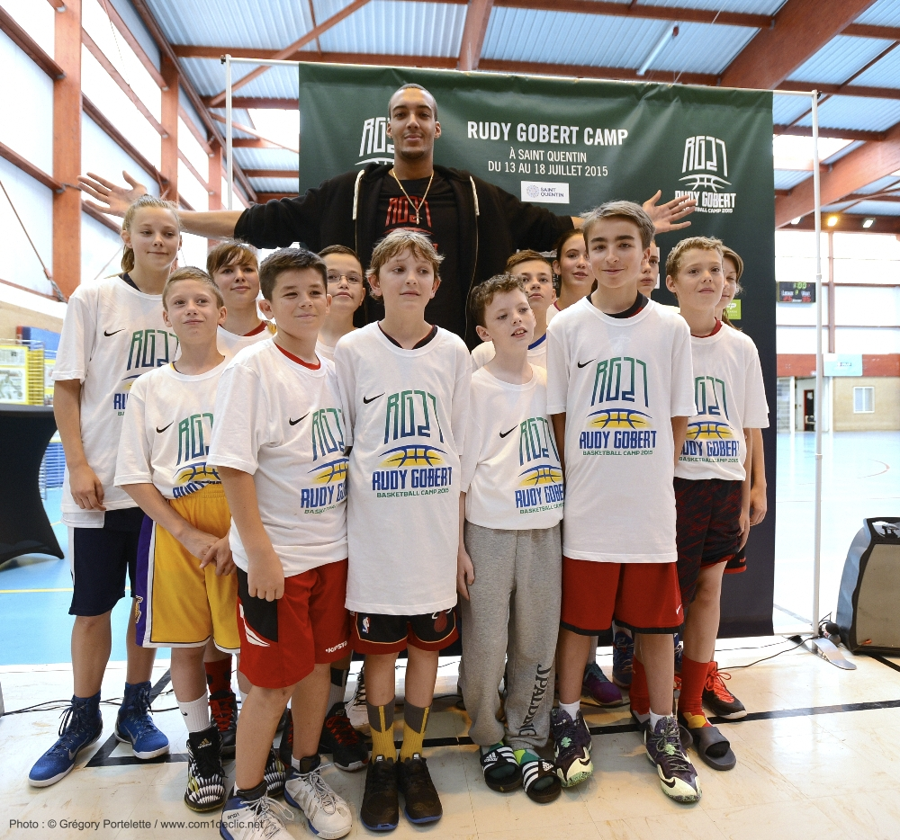 Rudy Gobert Camp 1
